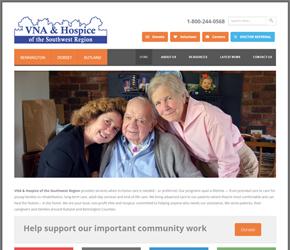 Visiting nurse website