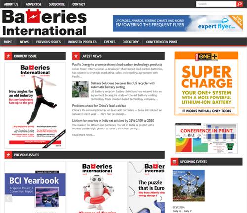 Batteries International publication